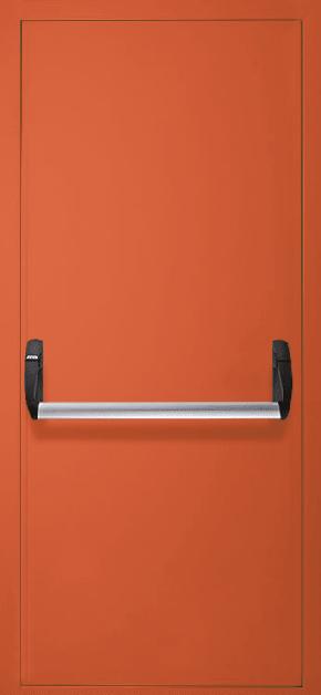 Однопольная противопожарная дверь «Антипаника» EI 30 (RAL 2000)