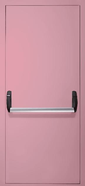 Однопольная противопожарная дверь «Антипаника» EI 30 (RAL 3015)