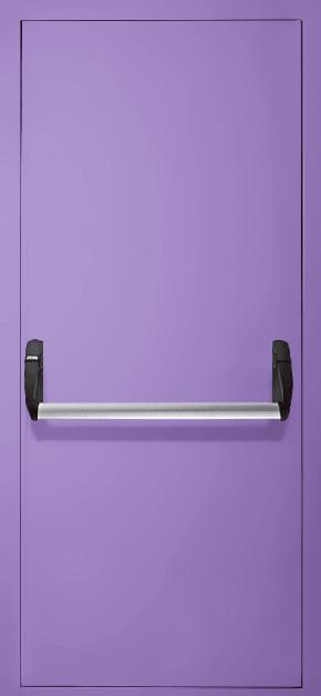 Однопольная противопожарная дверь «Антипаника» EI 30 (RAL 4005)