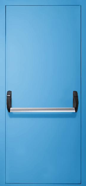 Однопольная противопожарная дверь «Антипаника» EI 30 (RAL 5012)