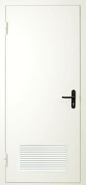 Однопольная дверь с вентиляцией EI 60 (RAL 9016)