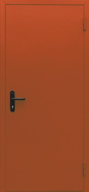 Однопольная глухая противопожарная дверь EI 30 (RAL 2000)