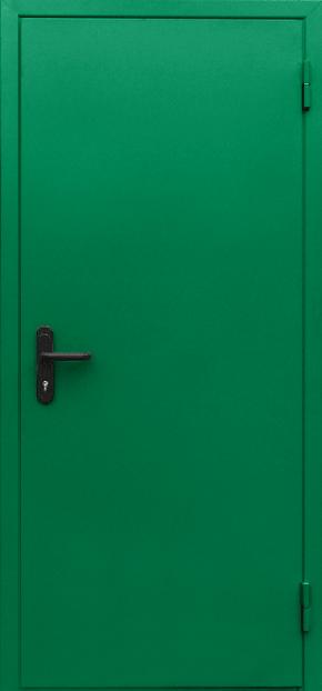 Однопольная глухая противопожарная дверь EI 60 (RAL 6024)