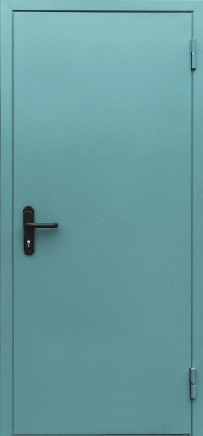 Однопольная глухая противопожарная дверь EI 60 (RAL 6027)