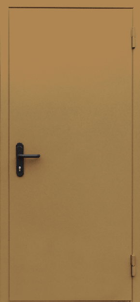 Однопольная глухая противопожарная дверь EI 60 (RAL 8000)