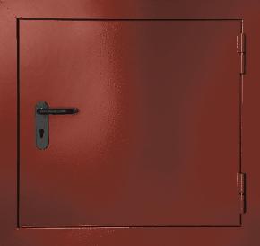 Одностворчатый противопожарный люк (RAL 3009)
