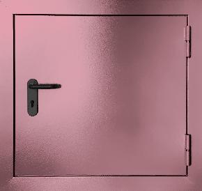 Одностворчатый противопожарный люк (RAL 3015)