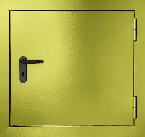 Одностворчатый противопожарный люк (RAL 1016)