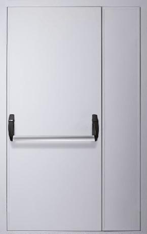 Полуторапольная противопожарная дверь «Антипаника» (RAL 7035)