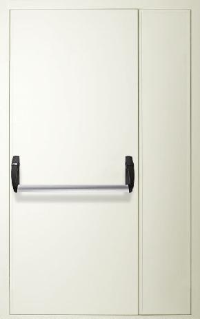 Полуторапольная противопожарная дверь «Антипаника» (RAL 9016)