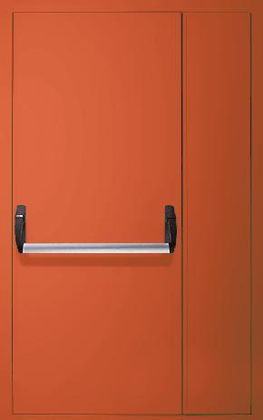Полуторапольная противопожарная дверь «Антипаника» EI 30 (RAL 2000)