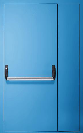 Полуторапольная противопожарная дверь «Антипаника» EI 30 (RAL 5012)