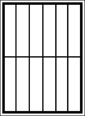 Сварная решетка на окно RS-001