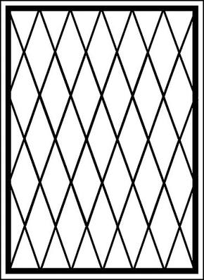 Сварная решетка на окно RS-005